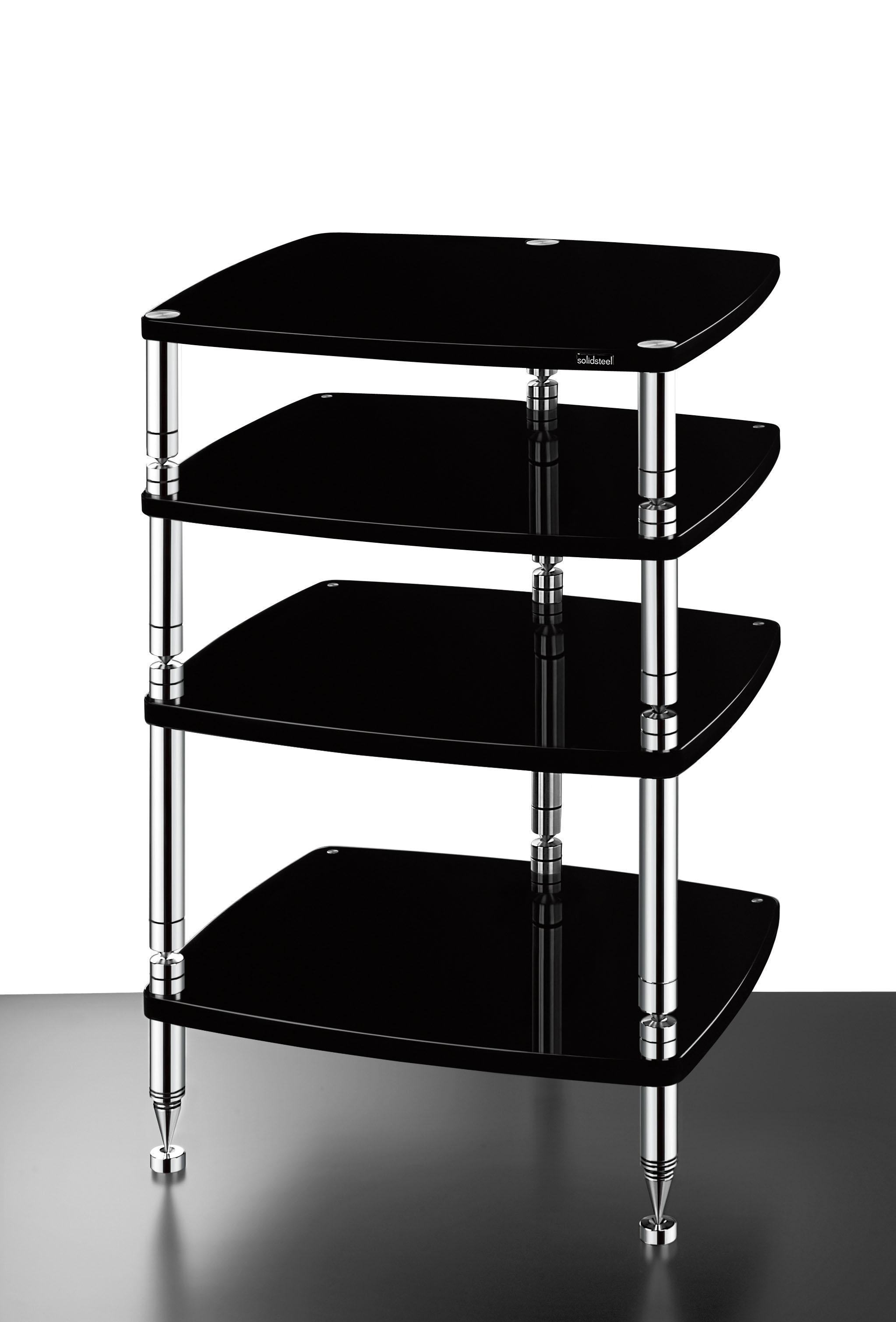 product solidsteel my end web audio fb rack high hj inch shelves shelf