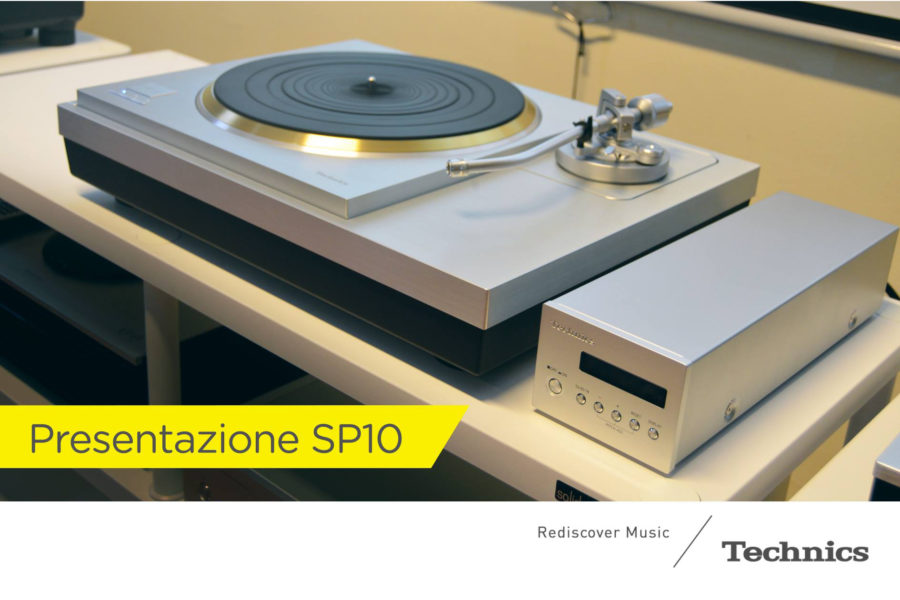 Solidsteel for Technics SP-10R Exhibition | Milan, 27th FEB 2018