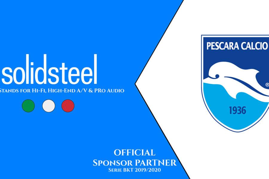 Official Partnership with Pescara Calcio