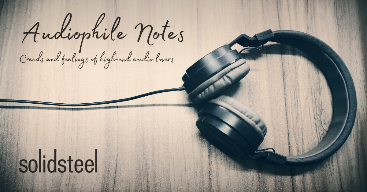 Audiophile Notes #2: Jason