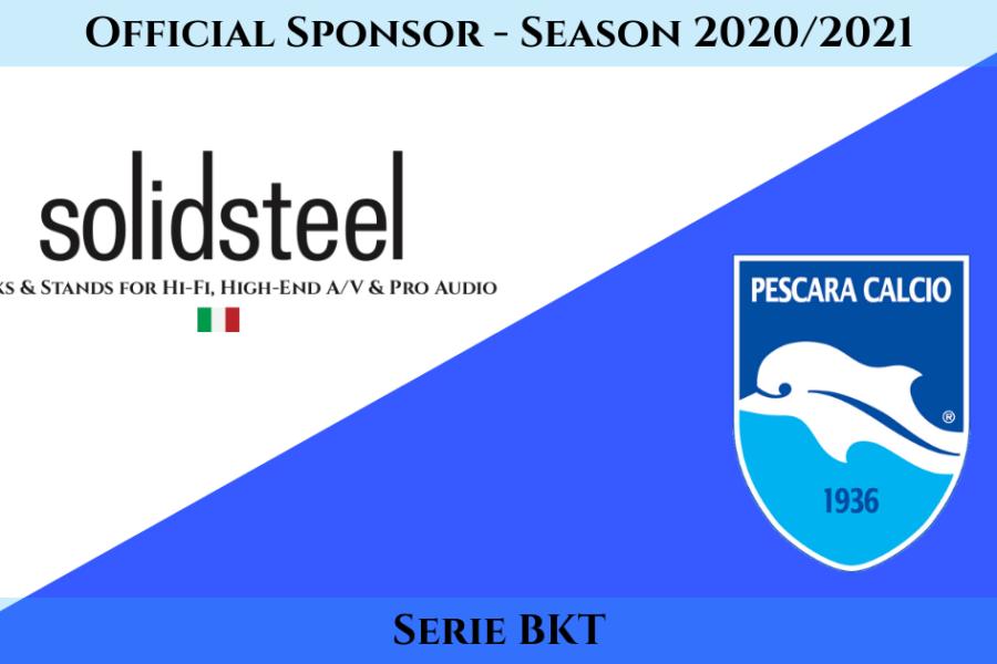 Official Sponsorship with Pescara Calcio
