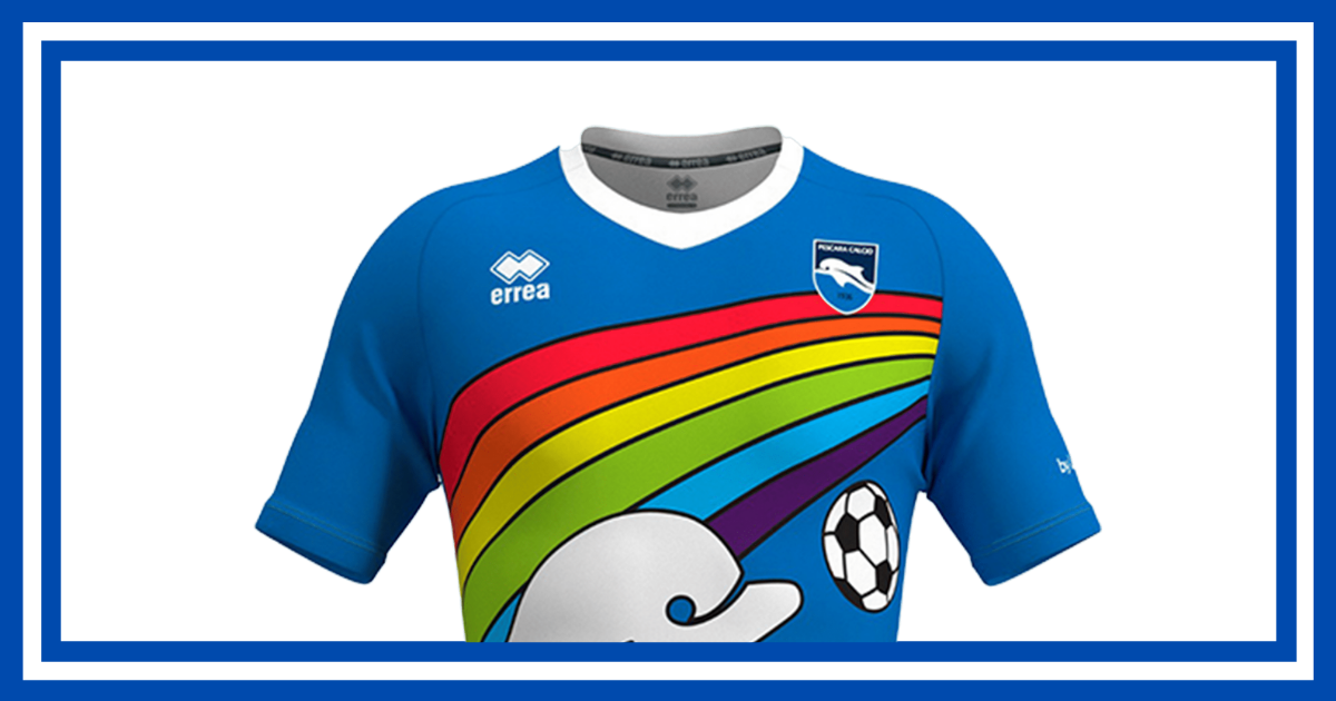 A Rainbow Jersey of Hope